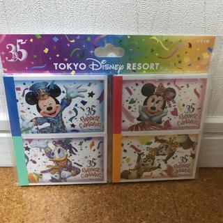 ディズニー(Disney)のディズニーリゾート♡35周年 グランドフィナーレ メモセット(ノート/メモ帳/ふせん)