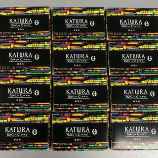 カツウラケショウヒン(KATWRA(カツウラ化粧品))の洗顔石鹸 12個セット カツウラ化粧品 サボンG トライアルサイズ(洗顔料)