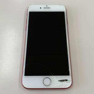アップル(Apple)のiPhone7 128GB レッド ジャンク品(スマートフォン本体)