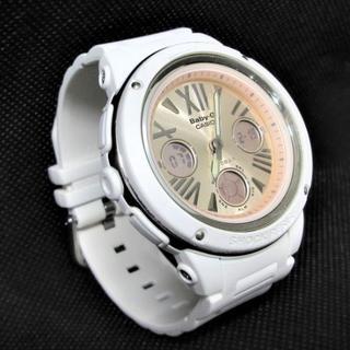 watch 92018 904aa 値下げ【BABY-G】ベビージー CASIO カシオ 腕時計 白×ピンク