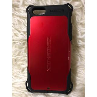 エレコム(ELECOM)のiPhone6/6s 対応 ZEROSHOCK ケース(iPhoneケース)