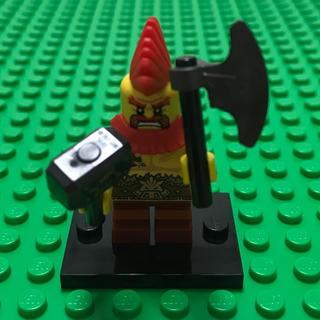 レゴ(Lego)のlego レゴ ミニフィグ シリーズ17 バトル ドワーフ ハンマー(知育玩具)