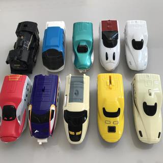 タカラトミー(Takara Tomy)のトミカ プラレール 10台(電車のおもちゃ/車)