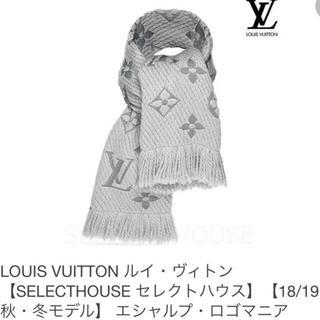 新品未使用★LOUIS VUITTON エシャルプ・ロゴマニア マフラー☆