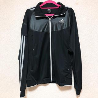 アディダス(adidas)の早い者勝ち アディダス ジャージL パーカー ポケット トレーニング ブラック(トレーニング用品)