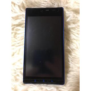 シャープ(SHARP)のdocomo NEXT series AQUOS PHONE SH-06D(スマートフォン本体)