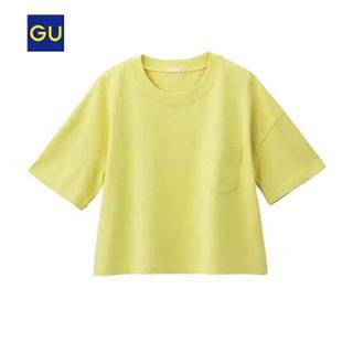 ジーユー(GU)のGU クロップドゆるT(Tシャツ(半袖/袖なし))