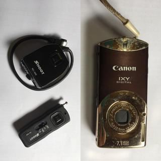 キヤノン(Canon)のカメラ用品【ジャンク】(コンパクトデジタルカメラ)