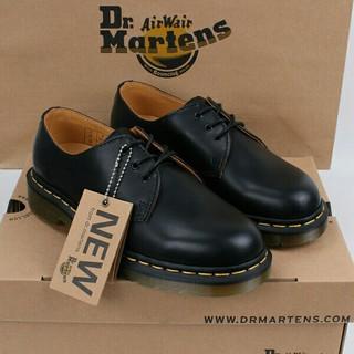 ドクターマーチン(Dr.Martens)のUK8 Dr.Martensドクターマーチン 1461 3ホール新品未使用01 (ブーツ)