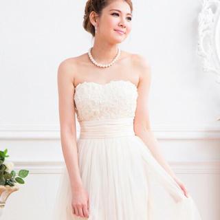 二次会 前撮り ドレス(ウェディングドレス)
