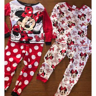 ディズニー(Disney)のミニーちゃん パジャマ 2点セット(パジャマ)