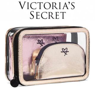 ヴィクトリアズシークレット(Victoria's Secret)の◼️新品未使用◼️VS ヴィクトリアシークレット ポーチ3点セット(ポーチ)