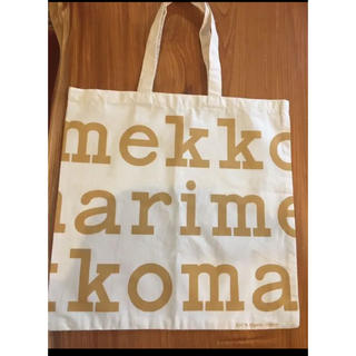 marimekko - マリメッコ トートバッグ 限定クリスマスカラー ゴールド 非売品♡