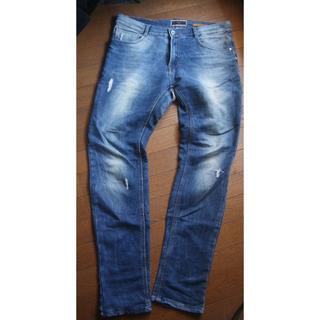 ザラ(ZARA)のZARA MAN  W35・W36ぐらい パンツ スリム ジャンク品(デニム/ジーンズ)