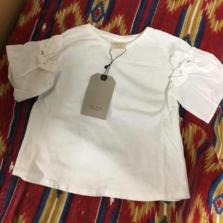 ZARA - ZARA❤︎袖布帛Tシャツ