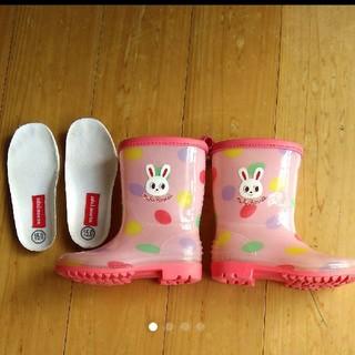 ミキハウス(mikihouse)のミキハウス長靴15  ミキハウス長靴 15(長靴/レインシューズ)