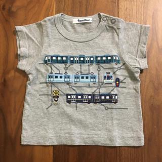 familiar - ファミリア Tシャツ 80サイズ 電車
