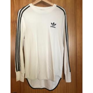 アディダス(adidas)のアディダス ロンT 白 メンズ M(Tシャツ/カットソー(七分/長袖))