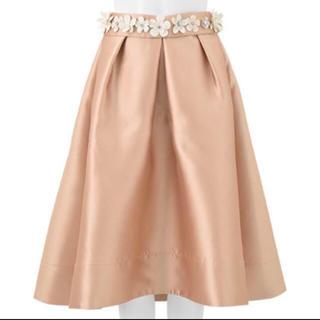 チェスティ(Chesty)の新品 チェスティ フラワーベルトスカート(ひざ丈スカート)