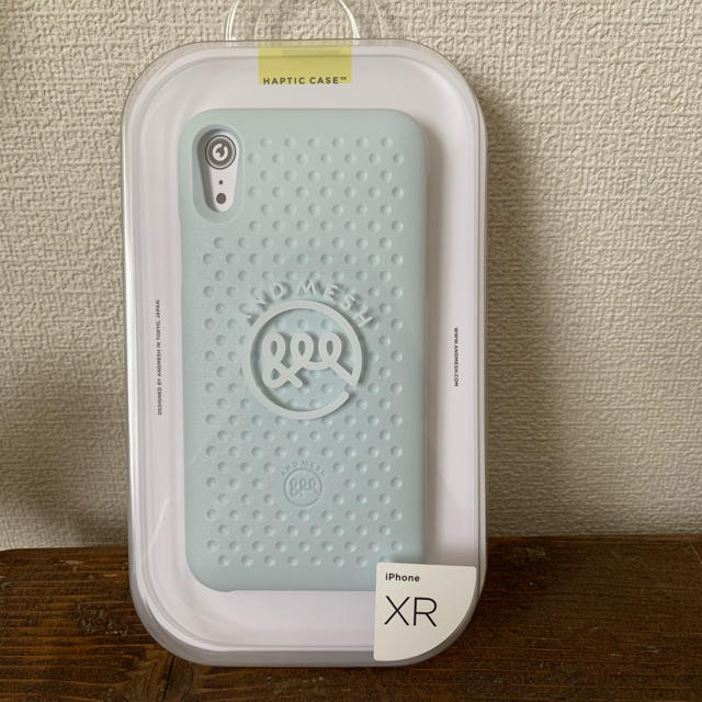 iphone6 ケース リボン | 新品★iPhone XR ケース 耐衝撃  AndMeshアンドメッシュ★ブルーの通販 by Mell|ラクマ