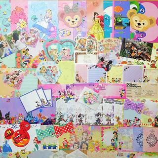 ディズニー(Disney)のディズニーバラメモ100枚(ノート/メモ帳/ふせん)
