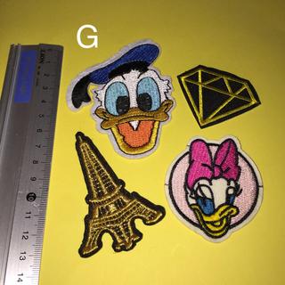 ディズニー(Disney)のディズニー 刺繍 アイロン ワッペン セット 送料無料(その他)