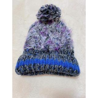 アズノゥアズピンキー(AS KNOW AS PINKY)のアズノゥアズピンキー ニット帽(ニット帽/ビーニー)