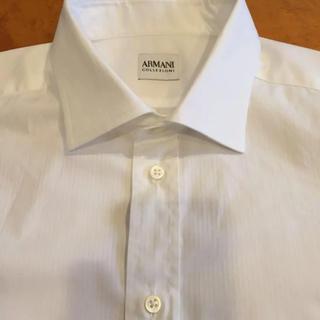 アルマーニ コレツィオーニ(ARMANI COLLEZIONI)のARMANI  collezioni☆*:.。. カッターシャツ(シャツ)