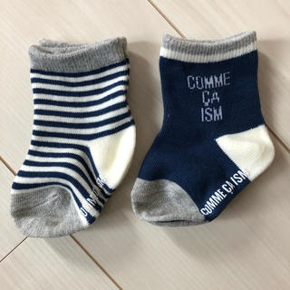 COMME CA ISM - 新品 ベビー  くつ下  靴下