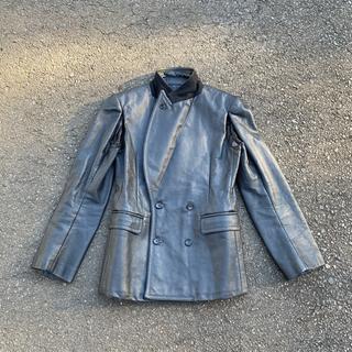 コムデギャルソン(COMME des GARCONS)のcomme des garcons ジャケット 2000AW(レザージャケット)