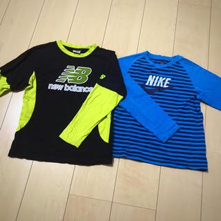 ナイキ(NIKE)のNIKE NB ロンTset(Tシャツ/カットソー)