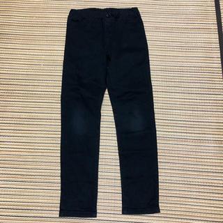 ジーユー(GU)のジーユー  スキニーパンツ 黒 120センチ(パンツ/スパッツ)