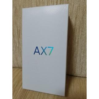 OPPO AX7 ゴールド 格安スマホ simフリー(スマートフォン本体)