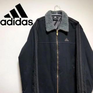 アディダス(adidas)のadidas アディダス ブルゾン ジャケット メンズ 古着 ボア(ブルゾン)