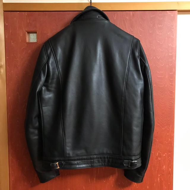 Lewis Leathers(ルイスレザー)の専用ですルイスレザー サイクロン ライダース サイズ40 メンズのジャケット/アウター(ライダースジャケット)の商品写真
