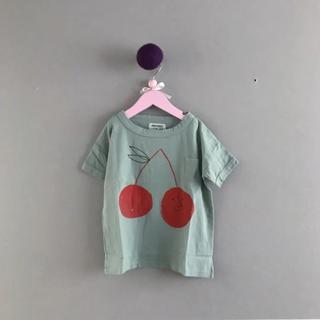 ボボチョース(bobo chose)の⚫︎BOBO CHOSES⚫︎ さくらんぼのトップス 6〜7Y(Tシャツ/カットソー)