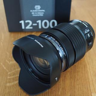 オリンパス(OLYMPUS)のオリンパス M.ZUIKO ED 12-100 f4.0 IS PRO 美品(レンズ(ズーム))