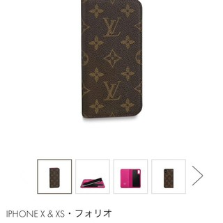 ルイヴィトン(LOUIS VUITTON)のLOUIS VUITTON iPhoneXケース (iPhoneケース)