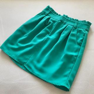 ジョリーブティック(Jolly Boutique)のジョリーブティック グリーン ミニスカート (ミニスカート)
