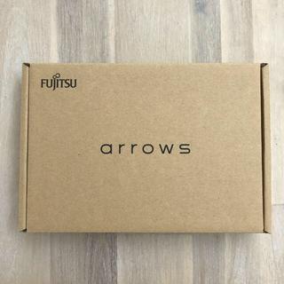 フジツウ(富士通)の【新品未開封】arrows M04 premium ブラック(スマートフォン本体)