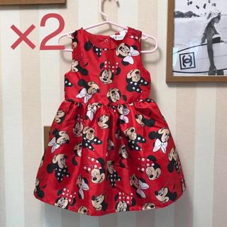 ディズニー(Disney)のミニーちゃん ドレス ワンピース(ワンピース)