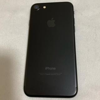 アップル(Apple)のiPhone 7 Black 128 GB au(スマートフォン本体)