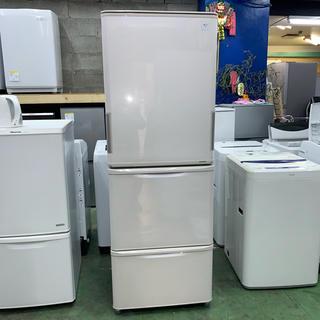 シャープ(SHARP)の⭐︎SHARP⭐︎冷凍冷蔵庫 2015年 自動製氷 両扉開き 大阪市近郊配達無料(冷蔵庫)