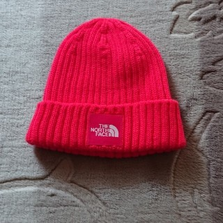 THE NORTH FACE - 美品キッズ ノースフェイスニット帽