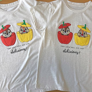 ディズニー(Disney)の新品チップとデールTシャツ(Tシャツ(半袖/袖なし))