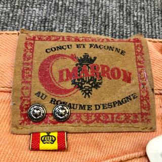 シマロン(CIMARRON)のCIMARRON   カラージーンズ  Made in Spain(デニム/ジーンズ)