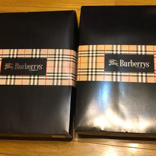 バーバリー(BURBERRY)の新品未使用、自宅保管品:Burberrys純毛毛布 シングルサイズ2組(毛布)