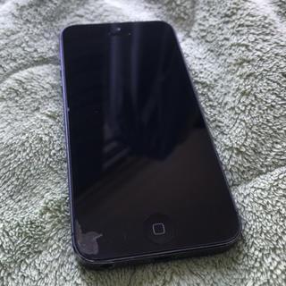 アップル(Apple)のiPhone5 32G Black au 初期化済 動作確認済(スマートフォン本体)