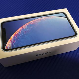 アイフォーン(iPhone)のiPhoneXR Blue 64GB simフリー(スマートフォン本体)