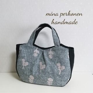 ミナペルホネン(mina perhonen)のミナペルホネン*ボヌール ころころトートバッグS ハンドメイド(バッグ)
